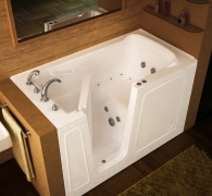 Tub, faucet installation to remodel bathroom images