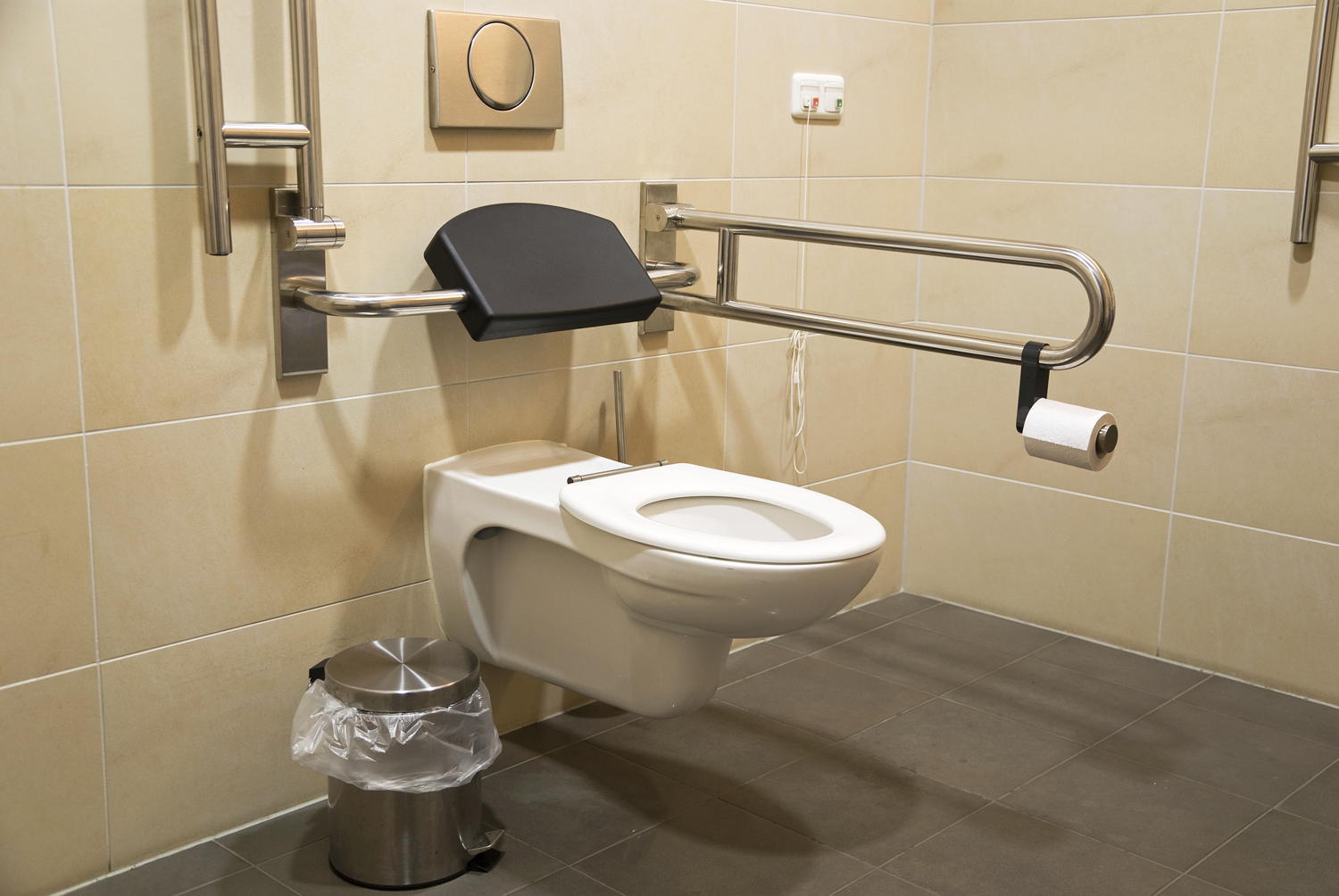 Bathroom And Toilet For Disabled People